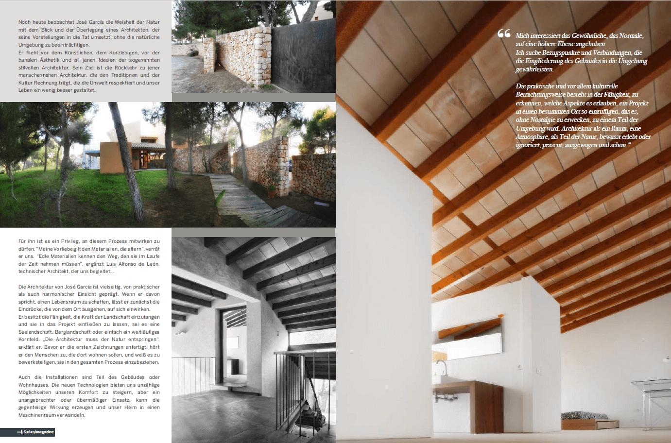 Santanyi Magazine – The traces of life - Rambla 9 - Arquitectura